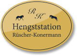 Hengststation Rüscher-Konermann Logo